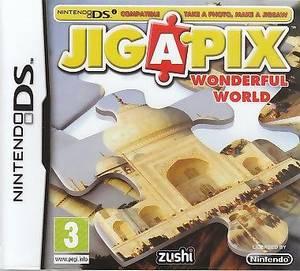 Bilde av Jigapix - Wonderful World (NDS)