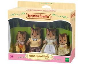 Bilde av Sylvanian Families Walnut Squirrel Family