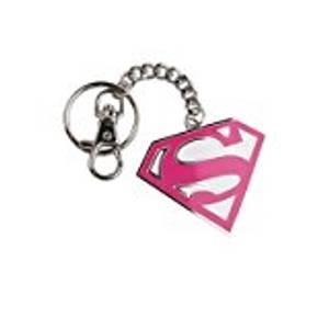 Bilde av Nøkkelring Superman - Rød S, Hvit Bakgrunn
