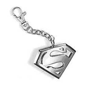 Bilde av Nøkkelring Superman - Sølv S