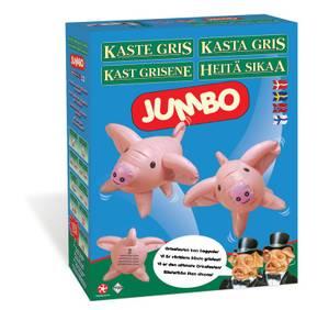 Bilde av Winning Moves Kast Grisene Jumbo - Nordisk Utgave