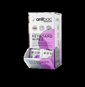 Bilde av Antibac KeyboardWipes 80stk