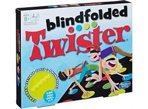 Bilde av Blindfolded Twister Brettspill - Engelsk