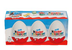 Bilde av Kinderegg Surprise 3 PK (3x20g)