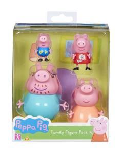Bilde av Peppa Gris - Peppas Familie 4 Figurer