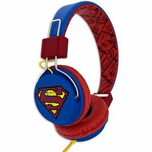 Bilde av Super-Man Hodetelefoner Teen Vintage On-Ear 110db