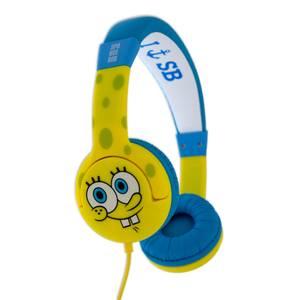 Bilde av Svampebob Hodetelefoner Junior On-Ear 85dB Gul Og