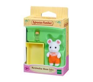 Bilde av Sylvanian Families Marshmallow Mouse Baby