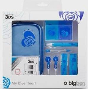 Bilde av BigBen My Blue Heart Starter Pack Til 3DS