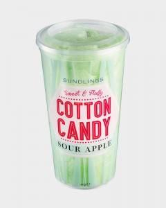 Bilde av Sundlings Cotton Candy Sour Apple 40g