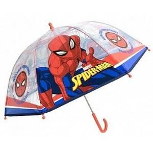 Bilde av Paraply Til Barn Spiderman Transparent