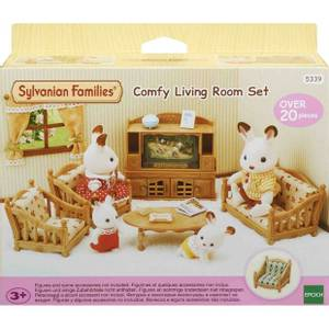 Bilde av Sylvanian Families Comfy Living Room Set