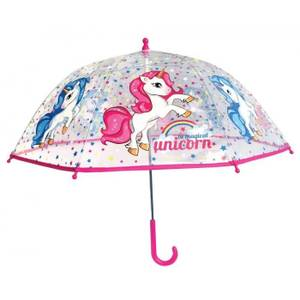 Bilde av Paraply Til Barn Enhjørning Transparent