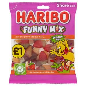 Bilde av Haribo Funny Mix 160g