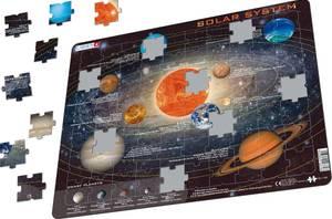 Bilde av Platepusle Solsystemet / PlaneterLarsen
