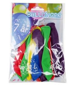 Bilde av Ballonger 7 År 8 Stk