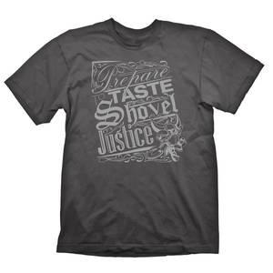 Bilde av T-Skjorte Shovel Knight - Justice Grey