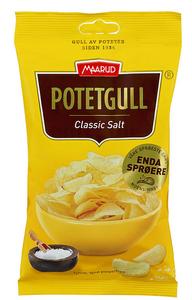 Bilde av Maarud Potetgull Classic Salt 40g