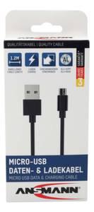 Bilde av Ansmann Micro-USB Data & Ladekabel