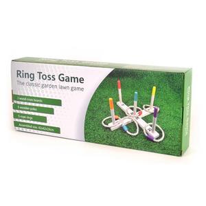 Bilde av Ringspill I Tre Med 5 Ringer Robetoy