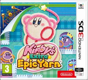 Bilde av Kirby's Extra Epic Yarn (3DS)