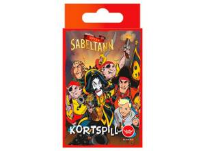Bilde av Kaptein Sabeltann Kortspill - Norsk Utgave