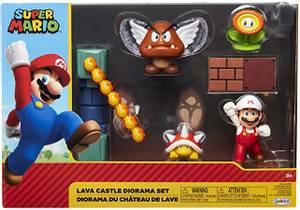 Bilde av Super Mario Lava CastleDiorama Set