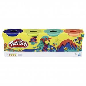 Bilde av Play-Doh 4 Klassiske Farger Assortert Nr. 2 (4