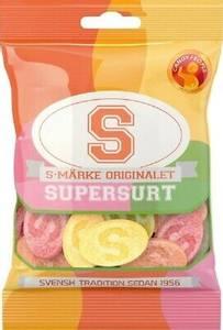 Bilde av S-Märke Supersurt80g