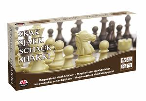 Bilde av Damspill Sjakk/Dam Med Magnetiske Brikker