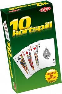 Bilde av Tactic 10 Kortspill - Norsk Utgave