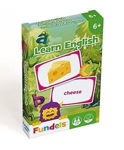 Bilde av Fundels Learn English - Kortspill