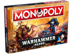 Bilde av Monopoly Warhammer 40K Brettspill - Engelsk