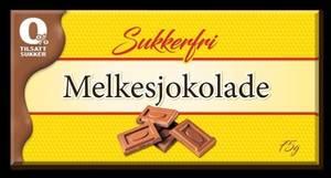 Bilde av Melkesjokolade Sukkerfri Godtesjuk 75g