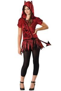 Bilde av Djevel Teen Kostyme Til Ungdom 14+
