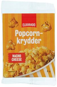 Bilde av Eldorado Popcornkrydder Nacho Cheese 3x8g