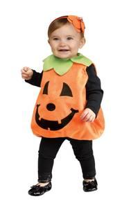 Bilde av Gresskar Kostyme Til Baby 0-2 År