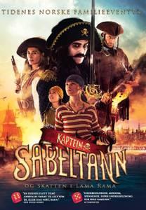 Bilde av Kaptein Sabeltann Og Skatten I Lama Rama (DVD)