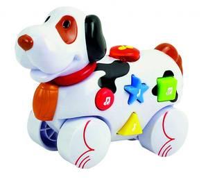 Bilde av Baby Buddy Musikkdyr - Hund Med Hjul, Lyd & Lys