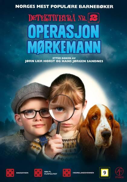 Detektivbyrå Nr.2 - Operasjon Mørkemann (DVD)
