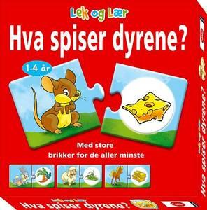 Bilde av Egmont Hva Spiser Dyrene? - Norsk Utgave