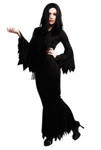Bilde av Vampyrkjole Svart Kostyme Til Voksen One Size