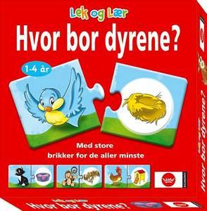 Bilde av Egmont Hvor Bor Dyrene? - Norsk Utgave