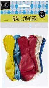Bilde av Ballonger Metallic Unik 10 stk
