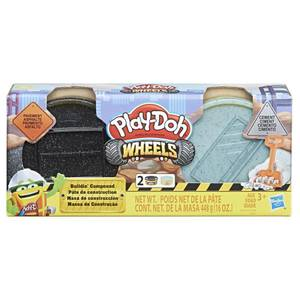 Bilde av Play-Doh Wheels Cement And Pavement Buildin`