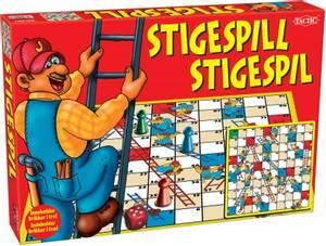 Bilde av Stigespill Med Trebrikker Tactic - Norsk & Dansk