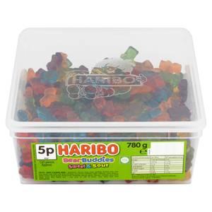 Bilde av Haribo Bear Buddies Sweet & Sour780g - Hel Boks