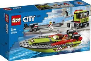 Bilde av Lego City Racerbåt Og Trailer60254