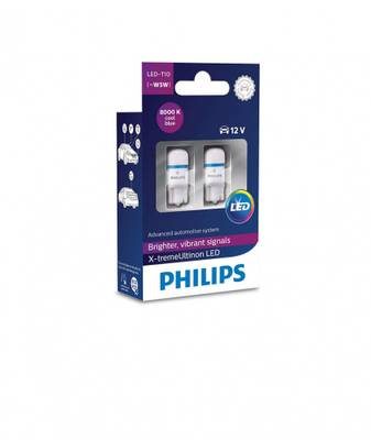 Philips T10 X-tremeUltinon LED 8000K