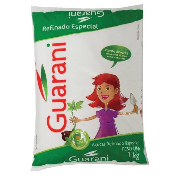 Açúcar de Cana - hvitt rørsukker 1kg